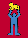 (Ohne Titel) Kunstdrucke von Keith Haring