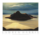 Pic Island Poster von Lawren S. Harris