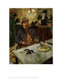 M. Boileau au Cafe Poster by Henri de Toulouse-Lautrec