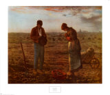 The Angelus, 1859 Prints by Jean-François Millet