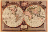 New Map of the World - Tablo