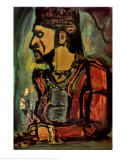 Old King Prints by Georges Rouault