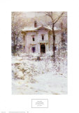 Victorian Winter, 1987 Prints by Richard Schmid
