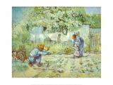 First Steps Poster von Vincent van Gogh