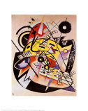 White Dot Prints by Wassily Kandinsky