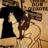 Lyceum, Don Quixote Print by William James Nicholson Pryde