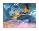 Fatata Te Miti Prints by Paul Gauguin