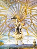 Santiago El Grande, c.1957 Poster by Salvador Dalí