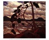 Ala oeste Láminas por Tom Thomson