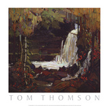 Woodland Waterfall Posters by Tom Thomson