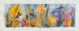 Geplätscher Kunstdrucke von Linn Done