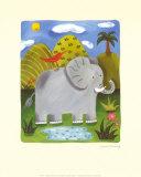Nellie, die Elefantendame Poster von Sophie Harding