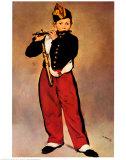 Le fifre Affiches par Édouard Manet