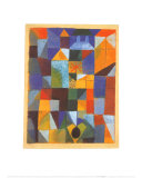 Cityscape with Yellow Windows Print by Paul Klee