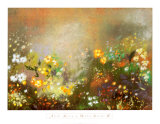 Meadow Garden IV Print by Aleah Koury