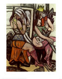 Actresses Art by Max Beckmann
