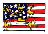 Sans titre Affiche par Keith Haring