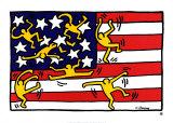Sin título Lámina por Keith Haring