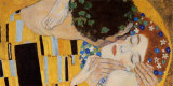 The Kiss, c.1907 (detail) Print by Gustav Klimt