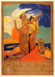 Exposition Nationale Coloniale, 1922 Prints by David Dellepiane