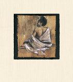 Gracia llena de sentimiento III Obra de arte por Monica Stewart