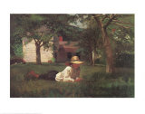 Nooning Poster by Winslow Homer