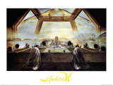 The Sacrament of the Last Supper, c.1955 Posters af Salvador Dalí