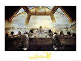 Das Abendmahl Poster von Salvador Dalí