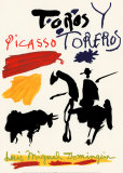 Toros y Toreros Print by Pablo Picasso