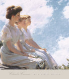 On the Heights Print by Charles Courtney Curran