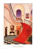 Manoir Salinger Affiche par Fanch Ledan
