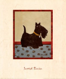Scottish Terrier Posters by Lanny Barnard