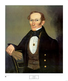 Mr. Pearce, c.1835 Poster by Erastus Salisbury Field