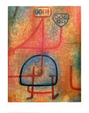 La Belle Jardiniere Print by Paul Klee
