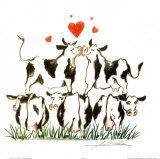 Love Parade Kunstdrucke von Alfred Gockel