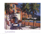 Lavandou Prints by Barbara McCann