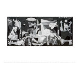 Guernica, ca 1937 Affischer av Pablo Picasso