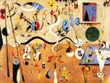 Carnival of Harlequin Affiches par Joan Miró