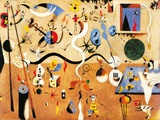 Carnival of Harlequin Kunstdrucke von Joan Mir&#243;