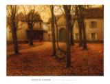 Village en Automne Posters av Henri Le Sidaner