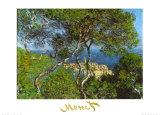 Villas à Bordighera, 1884 Posters par Claude Monet