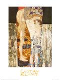 Las tres edades de la mujer, ca.1905 Póster por Gustav Klimt