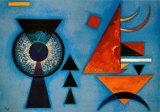 Corazón blando (Weiches Hart) Póster por Wassily Kandinsky