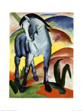 Blue Horse I Poster by Franz Marc