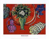 Stillleben mit Magnolien Poster von Henri Matisse