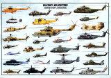 Śmigłowce wojskowe Poster