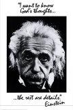Ce qu'en pense Dieu, Einstein Affiches