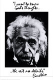 Einstein: God's Thoughts Posters