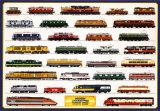 Train Modern Locomotives - Afiş