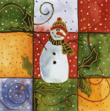 Snowman Posters by Carol Robinson